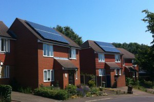 SolarPV panels on houses