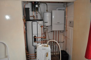Boiler installed by Warmer Homes Heating and Renewables